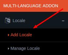 add locale