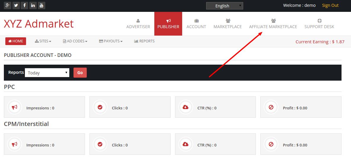 affiliate marketplace