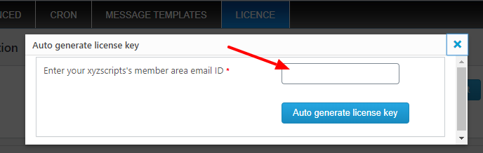 auto generate license key