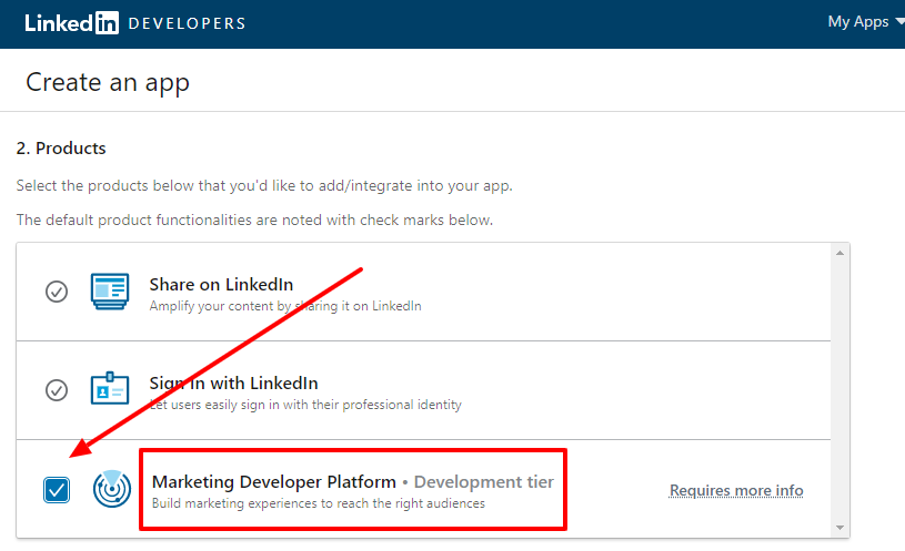 Marketing Developer Platform