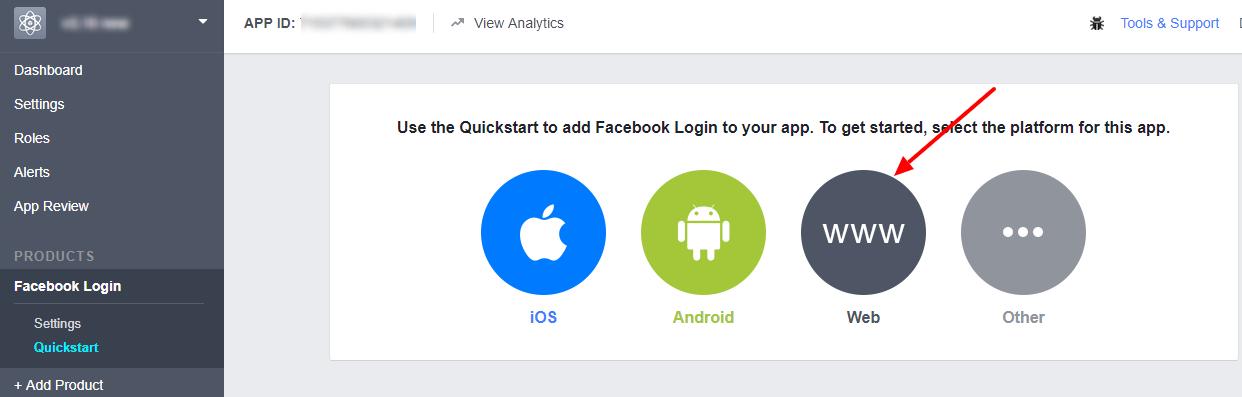 fb app web