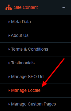 manage locale 2