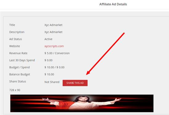 share affiliate ad
