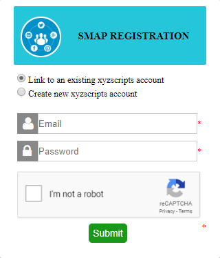 smap registration