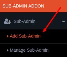 sub admin