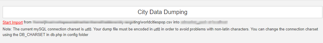 city date dumping