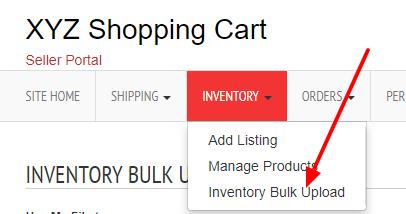 inventory bulk upload