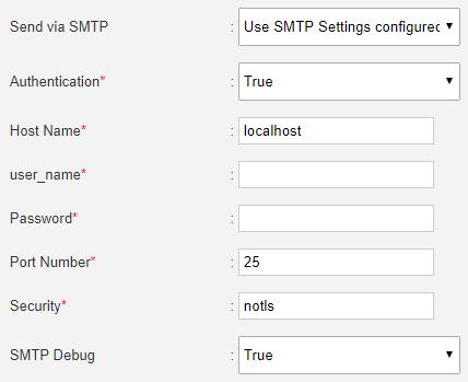 newsletter SMTP
