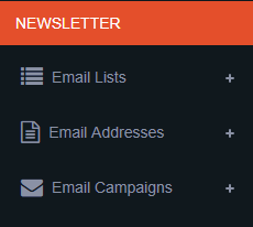 newsletter menu