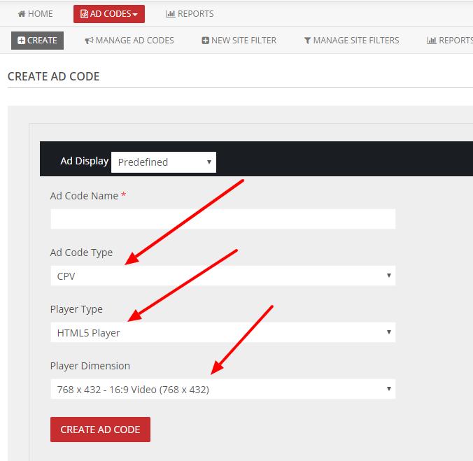 HTML5 adcode